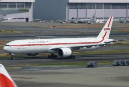 チャレンジャーさんが、羽田空港で撮影したインドネシア政府 777-3U3/ERの航空フォト(飛行機 写真・画像)