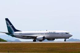 khideさんが、広島空港で撮影したシルクエア 737-8-MAXの航空フォト(飛行機 写真・画像)