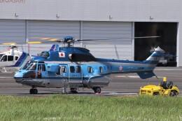 KAZFLYERさんが、東京ヘリポートで撮影した警視庁 AS332L1 Super Pumaの航空フォト(飛行機 写真・画像)