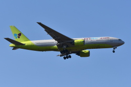 Deepさんが、成田国際空港で撮影したジンエアー 777-2B5/ERの航空フォト(飛行機 写真・画像)