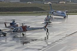 tsubameさんが、札幌飛行場で撮影した朝日航洋 AS350B3 Ecureuilの航空フォト(飛行機 写真・画像)
