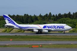 kuraykiさんが、成田国際空港で撮影したナショナル・エアラインズ 747-412(BCF)の航空フォト(飛行機 写真・画像)