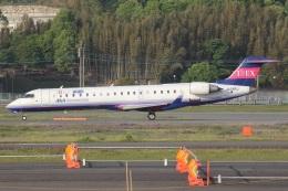 MOR1(新アカウント)さんが、福岡空港で撮影したアイベックスエアラインズ CL-600-2C10 Regional Jet CRJ-702の航空フォト(飛行機 写真・画像)