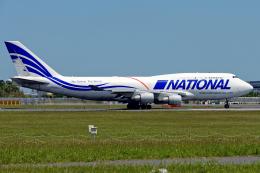 Cozy Gotoさんが、成田国際空港で撮影したナショナル・エアラインズ 747-412(BCF)の航空フォト(飛行機 写真・画像)