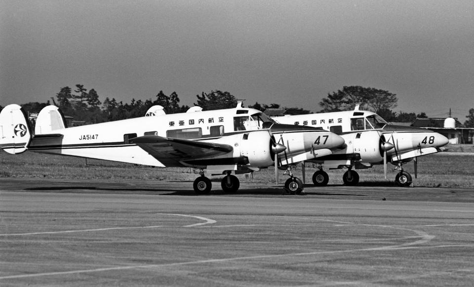 Y.Todaさんの東亜国内航空 Beechcraft 18 (JA5147) 航空フォト