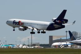ぎんじろーさんが、成田国際空港で撮影したフェデックス・エクスプレス MD-11Fの航空フォト(飛行機 写真・画像)