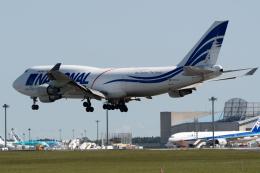 ぎんじろーさんが、成田国際空港で撮影したナショナル・エアラインズ 747-412(BCF)の航空フォト(飛行機 写真・画像)