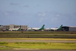不揃いさんが、ダニエル・K・イノウエ国際空港で撮影したアジア・パシフィック・エアラインズ 757-29J(PCF)の航空フォト(飛行機 写真・画像)
