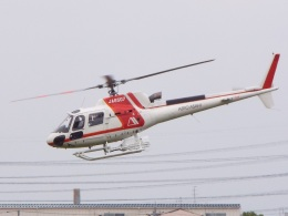YaoRJOYさんが、八尾空港で撮影した朝日航洋 AS350B3 Ecureuilの航空フォト(飛行機 写真・画像)