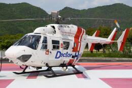 ほてるやんきーさんが、岐阜大学医学部付属病院で撮影したセントラルヘリコプターサービス BK117C-1の航空フォト(飛行機 写真・画像)