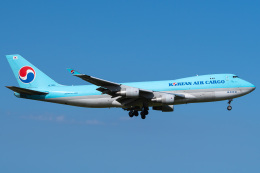 さんごーさんが、成田国際空港で撮影した大韓航空 747-4B5F/ER/SCDの航空フォト(飛行機 写真・画像)