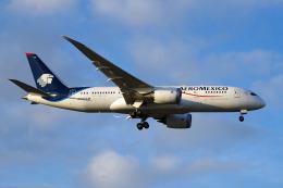 szkkjさんが、成田国際空港で撮影したアエロメヒコ航空 787-8 Dreamlinerの航空フォト(飛行機 写真・画像)
