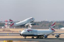 senyoさんが、成田国際空港で撮影したブリティッシュ・エアウェイズ 747-436の航空フォト(飛行機 写真・画像)
