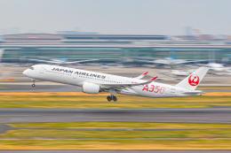 KAMIYA JASDFさんが、羽田空港で撮影した日本航空 A350-941の航空フォト(飛行機 写真・画像)