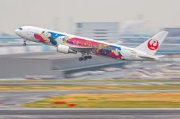 KAMIYA JASDFさんが、羽田空港で撮影した日本航空 767-346/ERの航空フォト(飛行機 写真・画像)