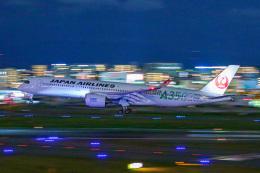 KAMIYA JASDFさんが、福岡空港で撮影した日本航空 A350-941の航空フォト(飛行機 写真・画像)