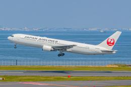 KAMIYA JASDFさんが、羽田空港で撮影した日本航空 767-346の航空フォト(飛行機 写真・画像)