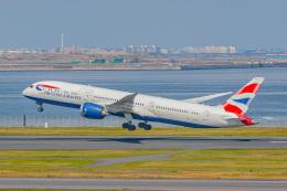 KAMIYA JASDFさんが、羽田空港で撮影したブリティッシュ・エアウェイズ 787-9の航空フォト(飛行機 写真・画像)