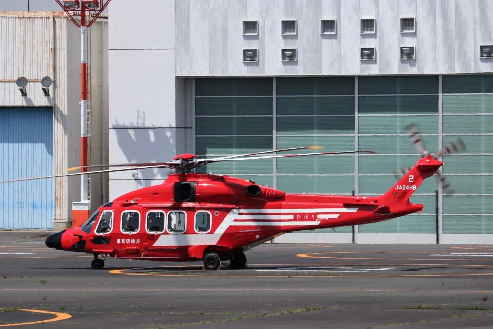 KAZFLYERさんの東京消防庁航空隊 Leonardo AW189 (JA24HB) 航空フォト