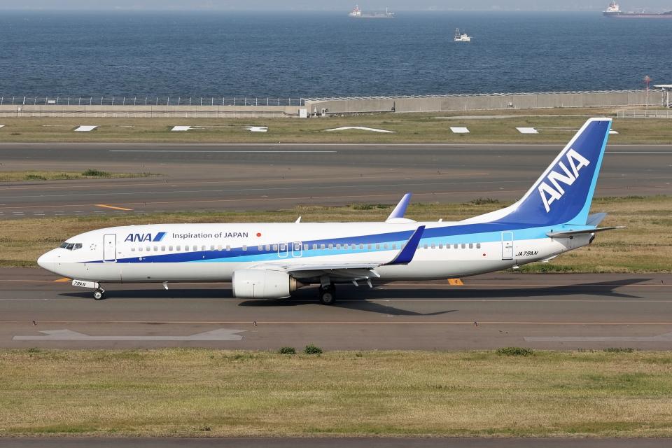 わんだーさんの全日空 Boeing 737-800 (JA79AN) 航空フォト