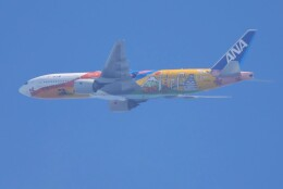 mahiちゃんさんが、羽田空港で撮影した全日空 777-281/ERの航空フォト(飛行機 写真・画像)