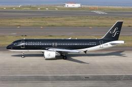 わんだーさんが、中部国際空港で撮影したスターフライヤー A320-214の航空フォト(飛行機 写真・画像)