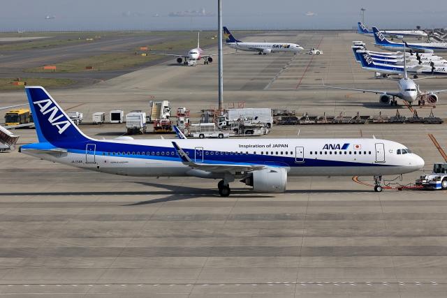 航空フォト:JA134A 全日空 A321neo