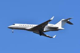 ポン太さんが、成田国際空港で撮影した ウィルミントン・トラスト・カンパニー  BD-700 Global Express/5000/6000の航空フォト(飛行機 写真・画像)