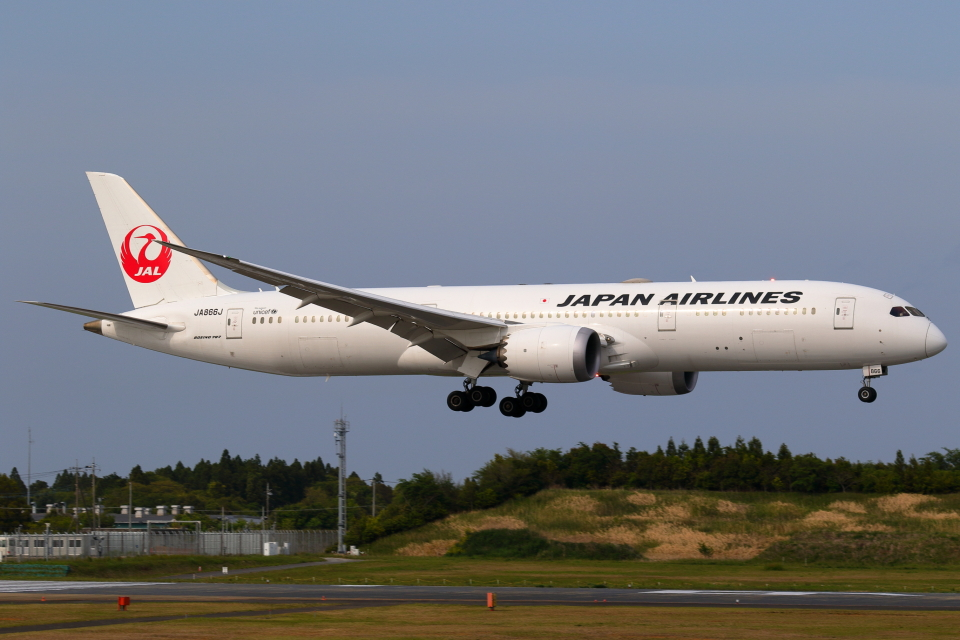 こだしさんの日本航空 Boeing 787-9 (JA866J) 航空フォト
