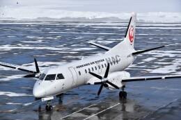 こじゆきさんが、札幌飛行場で撮影した北海道エアシステム 340B/Plusの航空フォト(飛行機 写真・画像)