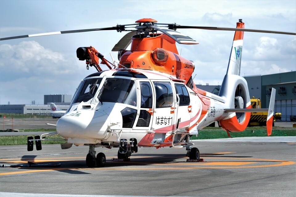 hidetsuguさんの北海道防災航空隊 Airbus Helicopters AS365/565 (JA01HR) 航空フォト