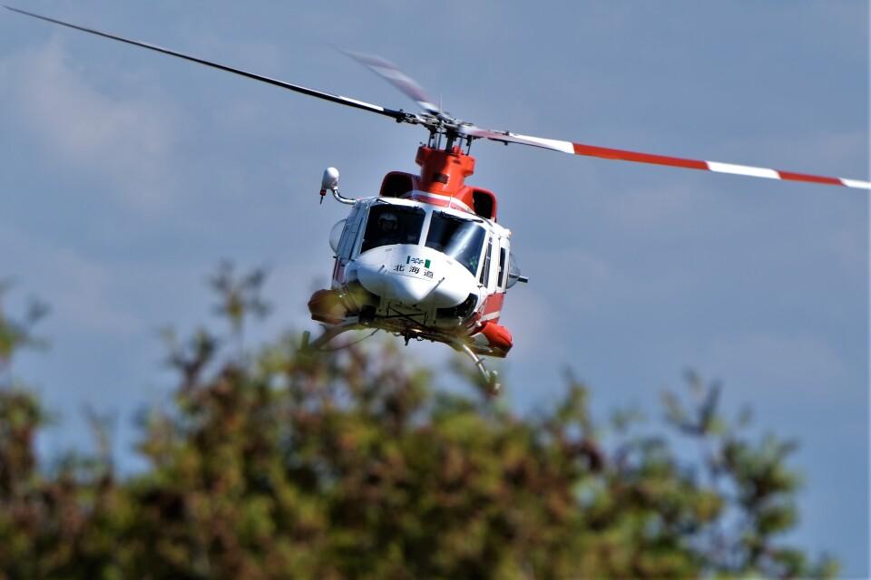 hidetsuguさんの北海道防災航空隊 Bell 412 (JA6775) 航空フォト