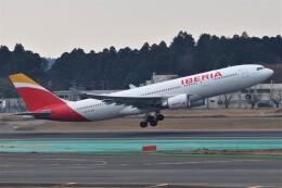 Flying A340さんが、成田国際空港で撮影したイベリア航空 A330-202の航空フォト(飛行機 写真・画像)