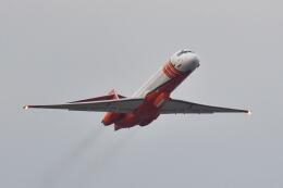 ポン太さんが、成田国際空港で撮影したエリクソン・エアロ・タンカー MD-87 (DC-9-87)の航空フォト(飛行機 写真・画像)