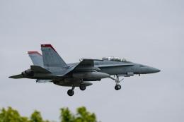 Takeshi90ssさんが、厚木飛行場で撮影したアメリカ海兵隊 F/A-18D Hornetの航空フォト(飛行機 写真・画像)