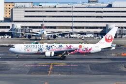 ポン太さんが、羽田空港で撮影した日本航空 767-346/ERの航空フォト(飛行機 写真・画像)