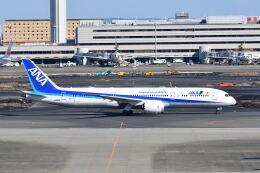 ポン太さんが、羽田空港で撮影した全日空 787-9の航空フォト(飛行機 写真・画像)