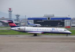 チャーリーマイクさんが、福岡空港で撮影したアイベックスエアラインズ CL-600-2C10 Regional Jet CRJ-702ERの航空フォト(飛行機 写真・画像)