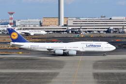 ポン太さんが、羽田空港で撮影したルフトハンザドイツ航空 747-830の航空フォト(飛行機 写真・画像)