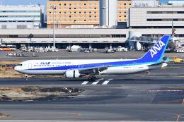 ポン太さんが、羽田空港で撮影した全日空 767-381/ERの航空フォト(飛行機 写真・画像)
