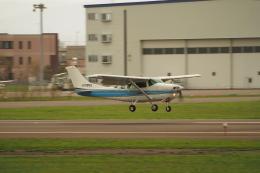 ここはどこ?さんが、札幌飛行場で撮影した北海道航空 TU206G Turbo Stationair 6の航空フォト(飛行機 写真・画像)