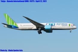 Chofu Spotter Ariaさんが、成田国際空港で撮影したバンブー・エアウェイズ 787-9の航空フォト(飛行機 写真・画像)
