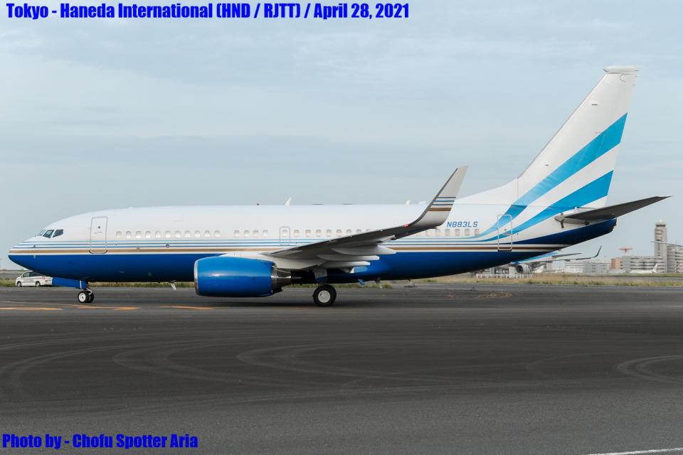 Chofu Spotter Ariaさんのラスベガス サンズ Boeing 737-700 (N883LS) 航空フォト