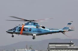 Hii82さんが、八尾空港で撮影した山形県警察 A109E Powerの航空フォト(飛行機 写真・画像)