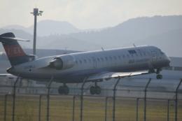 クリューさんが、鹿児島空港で撮影したアイベックスエアラインズ CL-600-2C10 Regional Jet CRJ-702の航空フォト(飛行機 写真・画像)