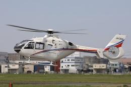 Hii82さんが、八尾空港で撮影した静岡エアコミュータ EC135T2の航空フォト(飛行機 写真・画像)