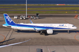 航空フォト:JA150A 全日空 A321neo