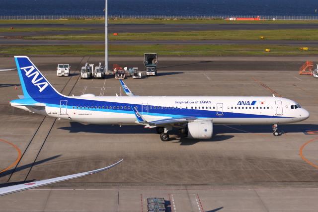 航空フォト:JA150A 全日空