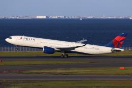 やつはしさんが、羽田空港で撮影したデルタ航空 A330-941の航空フォト(飛行機 写真・画像)