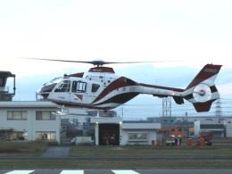 YaoRJOYさんが、八尾空港で撮影した読売新聞 EC135P2の航空フォト(飛行機 写真・画像)